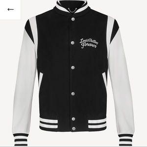 Authentic Men's Louis Vuitton leather jacket